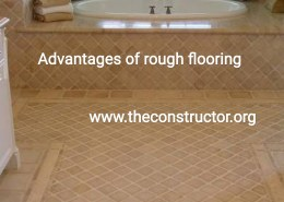 What are the Advantages of Rough Flooring?