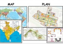 Difference between map and plan?