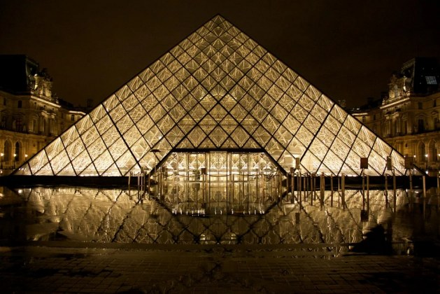 Louvre Pyramid: The Gigantic Glass Structure in France