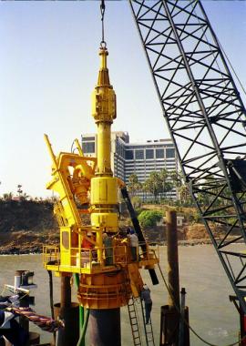 Drilling Equipments used in Bandra-Worli Bridge construction