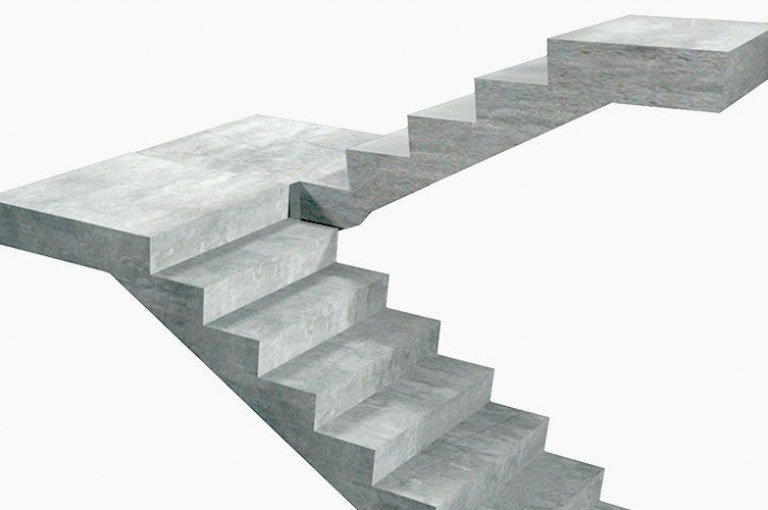 How to Design a Longitudinally Spanning R.C.C Staircase?