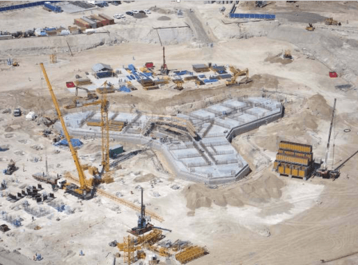 Foundation system and its construction for Burj Khalifa tower