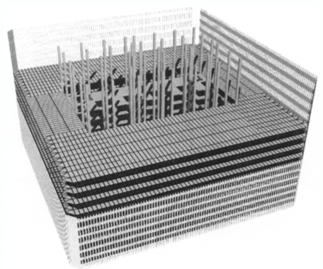 The egg-crate construction method
