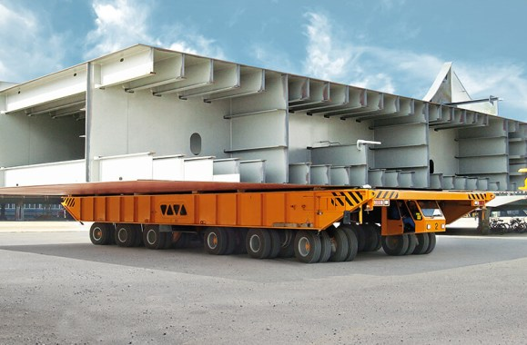 Vehicles for lifting heavy loads