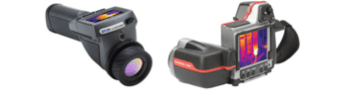 Thermal cameras used for infrared thermal imaging