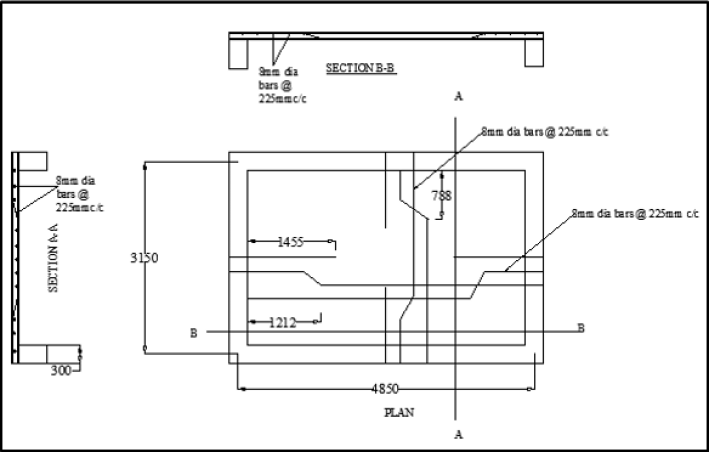 Detailing of a Two-way Continuous Slab