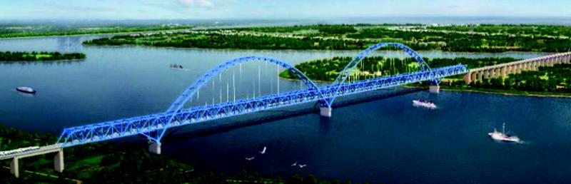 The Rongjiang Bridge is a significant engineering project of the Xiamen–Shenzhen high-speed railway.