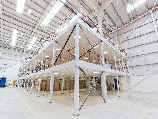 Two-floored Mezzanine Floor