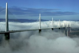 Millau Viaduct: Construction Features of the World's Tallest Bridge