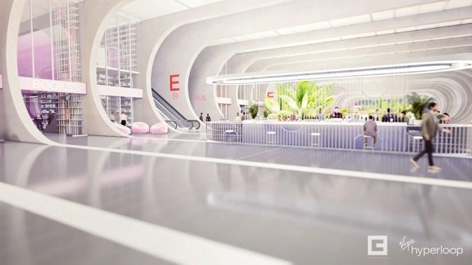 Virgin hyperloop passenger experience vision