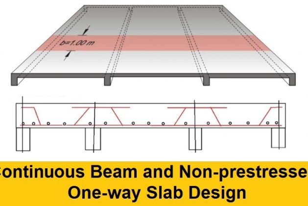 How to Design Continuous Beam and One-way Slab using ACI Approximate Analysis Method?