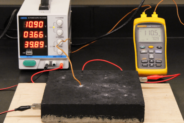 Research: Electrifying Concrete with Nanocarbon Material