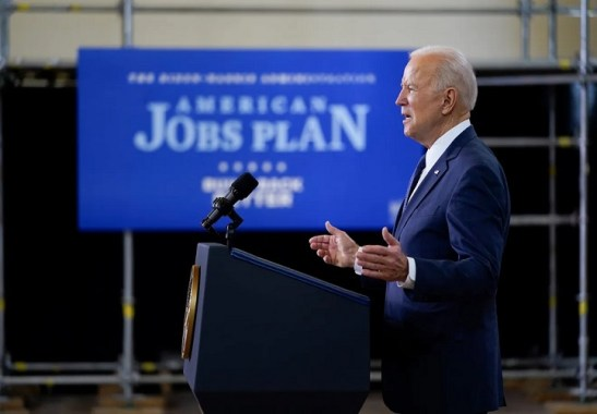 American Jobs Plan construction