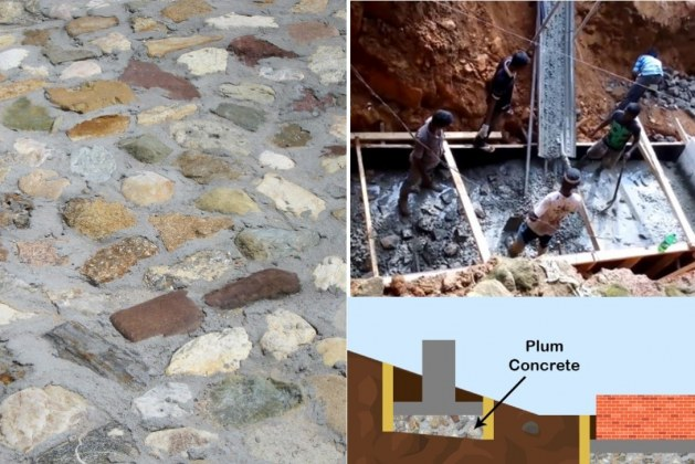 Plum Concrete: Applications and Procedure of Laying