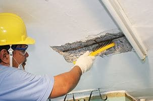 Spalling concrete repair
