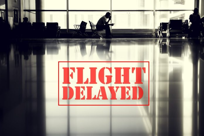 flight, delay, airport