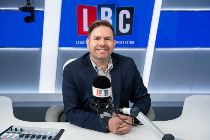 Dean's new radio show on LBC, every Friday at 9pm