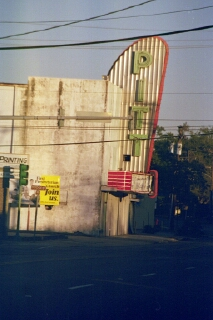 Pitt Theater, Lake Charles, Louisiana (copyright: Laurie Snyder, 1999)