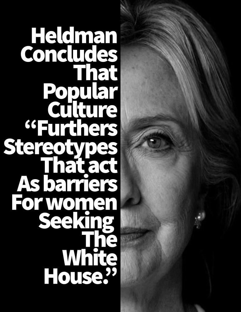 Hillary_Gender in Presidential Politics