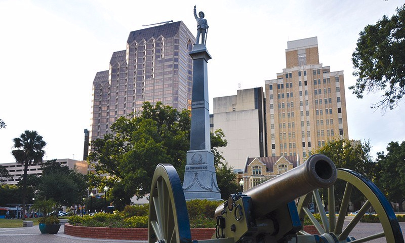 San Antonio vs. Confederate symbols?