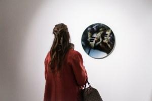 Installation image of works by Vasilis Avramidis