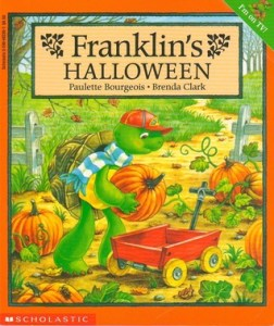 Franklin's Halloween - The Contented Reader