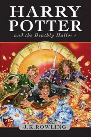 The Deathly Hallows by JK Rowling - The Contented Reader