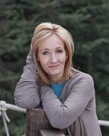 JK Rowling Author Photo - The Contented Reader
