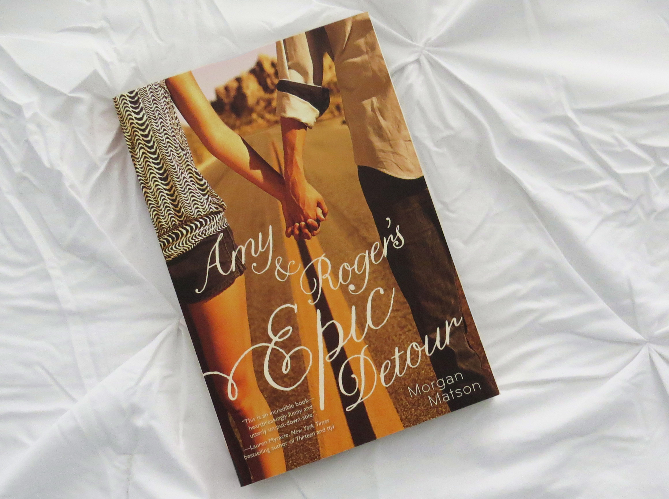 Amy and Roger's Epic Detour by Morgan Matson - The Contented Reader