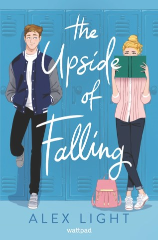 The Upside of Falling by Alex Light Book Cover