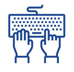 keyboard 002 blue 250px