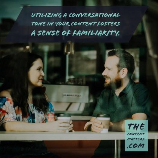 Conversational Tone