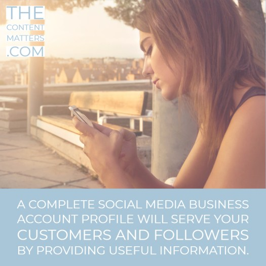 Social Media Business Account