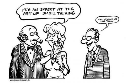 Brief thought exercise: what percentage of conversation in