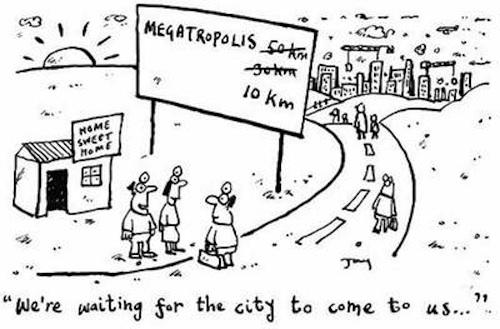Most urban sprawl, 2000-2010? Myrtle Beach. Least
