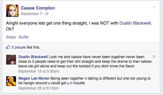Cassie Compton Facebook
