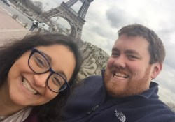 Ted Bauer Ximena Antunez Eiffel Tower