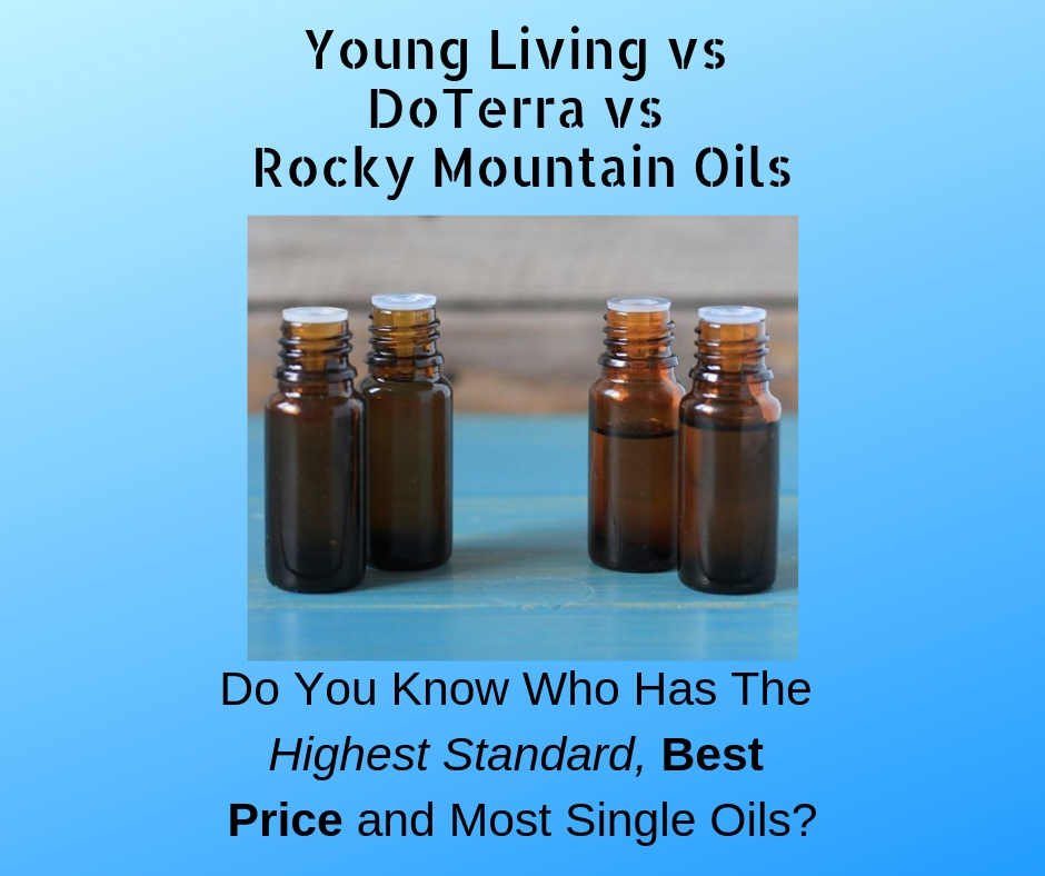 Best Essential Oils - Young Living vs DoTerra