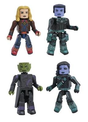 Diamond Select Toys Marvel Movie Minimates Captain Marvel Box Set