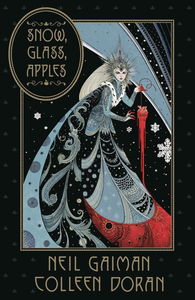 Cover of Dark Horse's SNOW, GLASS, APPLES hardcover
