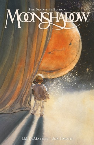 Cover of Dark Horse's MOONSHADOW THE DEFINITIVE EDITION