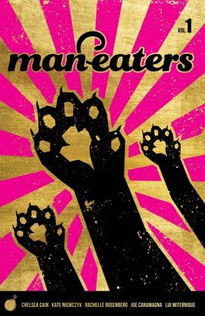 Cover of Image Comics Man-Eaters Vol. 1