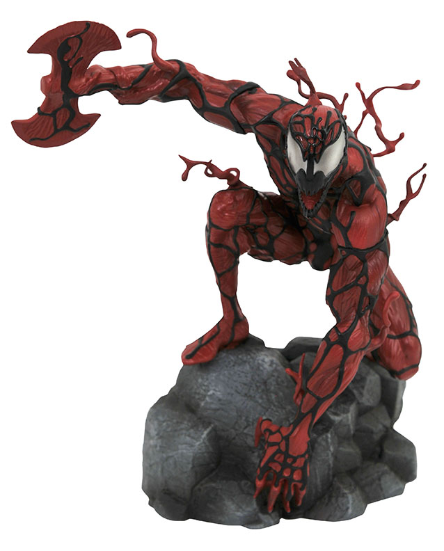 Diamond Select Toys Marvel Comic Gallery Carnage PVC Diorama
