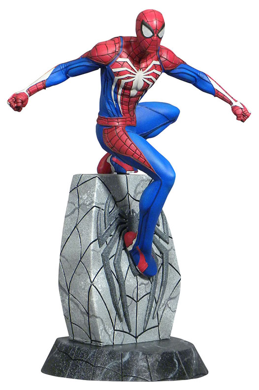 Diamond Select Toys Marvel Video Game Gallery Spider-Man PVC Diorama