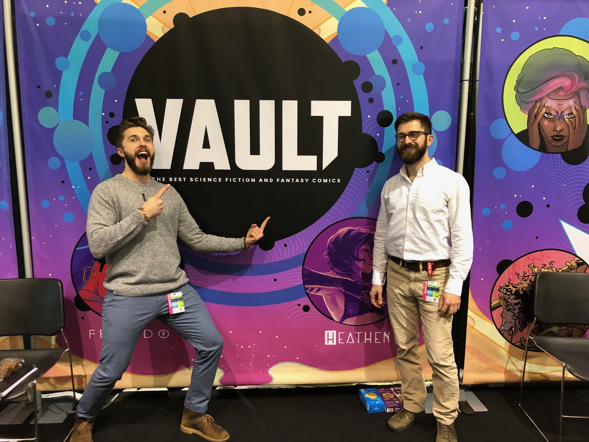 ECCC 2019: In Conversation with Vault Comics – Damian and