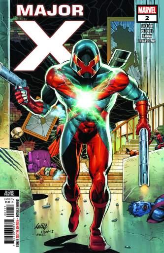 Marvel Comics Major X 2 cover