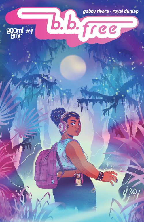 Main cover of B.B. Free #1 from BOOM! Studios / BOOM! Box, art by Royal Dunlap