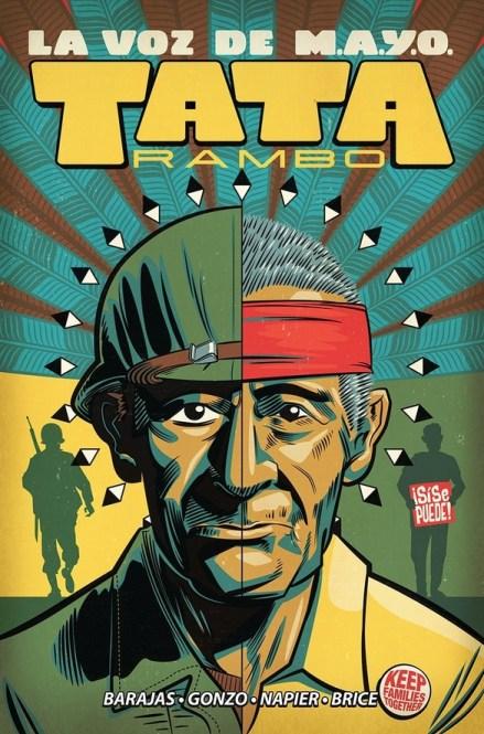 Cover of LA VOZ DE M.A.Y.O. TATA RAMBO