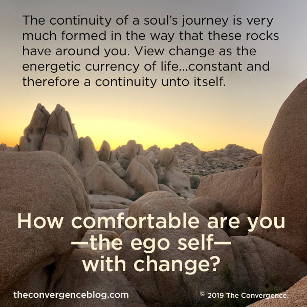 How comfortable are you with change?