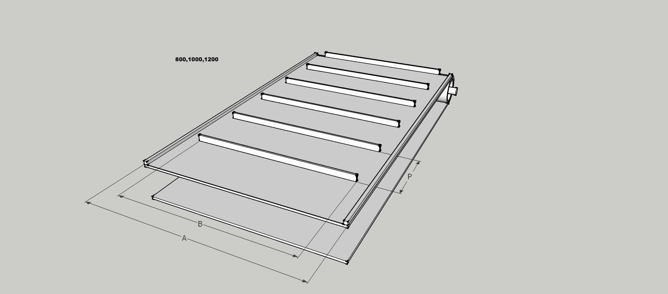 Doppstadt DW3060 bio Bison replacement rear conveyor belt